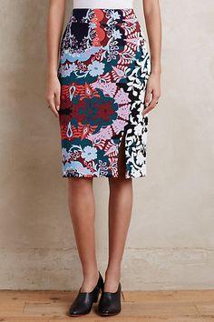 Tearoom Pencil Skirt #anthropologie