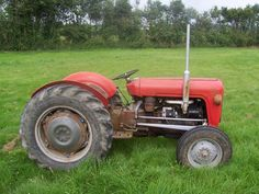Image detail for -Massey Ferguson 35 Vintage Tractor - Original Condition