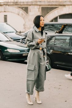 Herbst Winter, Street Style Fashion, Paris Fashion, Fashion Week, Fashion Looks, Fashion Outfits, Womens Fashion, Street Look, Street Style Looks