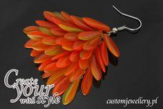#Kolczyki z #koralikiów Jablonex od #customjewellery.pl