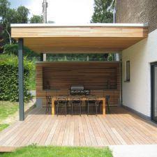 Programme: création d\'une terrasse couverte avec cuisine ...