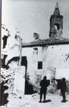 Casa situada entre las calles Hermanos Naval y Emparrado (esta última se ve en la foto)