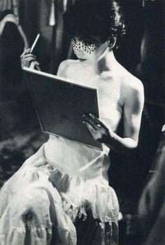 zzzze: Saul Leiter Makeup1958