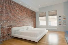50 Minimalist Bedroom Ideas That Blend Aesthetics With Practicality Love the postcards on the wall!