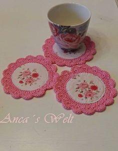 olha o que dá pra fazer com sobras de tecido - Clube do croche/ Alcione Telles