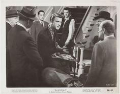 Leslie Nielsen + Glenn Ford 1956 Vintage 8x10 STILL PHOTO Ransom 1685-75