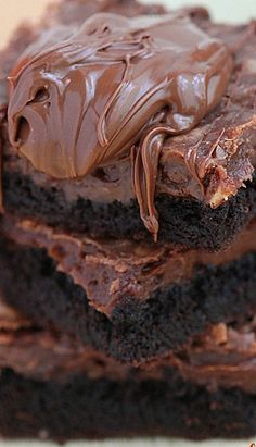 Fudgy Nutella Chocolate Cake Recipe | Roxana's Home Baking