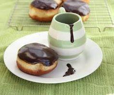 Boston cream doughnuts