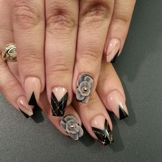 """""""Midnight madness  with  @nailsbydanielle  #notpolish"""""""
