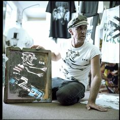 "saturday  @brian_bent is coming across the pacific to play live at the surfjack along with a mini exhibition of his ocean-inspired art. brian is a musician surfer skater artist & hot rod aficionado. in the words of @indoek ""catching a glimpse of brian is"