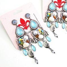3288 - Brincos Mermaid - Antonietta Bijuterias e acessórios, acessórios, mix de pulseiras, moda sereia, pulseira buzios, pulseirismo sereia ,bijuterias finas atacado, pulseirismo boho, bijoux com buzios, pulseiras atacado