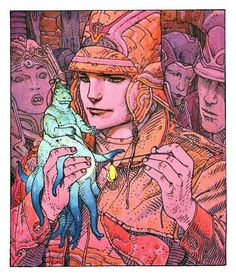 Moebius Giraud | Artbook Nº2 | Surreal comic artist | French illustrator #Surrealismo