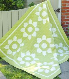 Blossom Quilt by Joanna Figuero