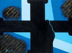 Deim Pál: Gyász, 2006 Painters, Modern, Trendy Tree