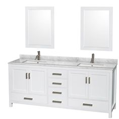 Distinctive styling and elegant lines come together to form a complete range of modern classics in the Sheffield Bathroom Vanity collection. These vanities are designed inspired by well established American standards and crafted without compromise.