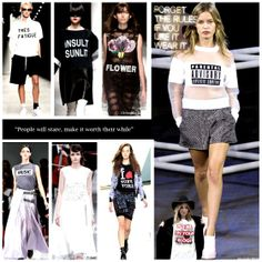Graphic Tee is a huge spring 2014 trend