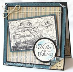 ODBDSLC152 Needle It.  Stamps - Our Daily Bread Designs Surging Sea, Sentiments 2 Collection