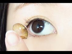 How to : Open, Store, Clean, Check, Put On, Remove and Re-wetting Contact Lens - YouTube