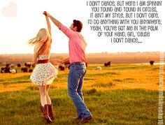 """I Don't Dance""- Lee Brice"