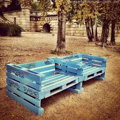 Recycled Wooden Pallet Furniture