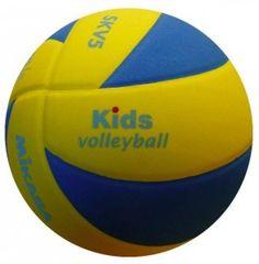 Piłka siatkowa Mikasa SKV5 - lekka piłka siatkowa przeznaczona dla najmłodszych adeptów siatkówki. $23