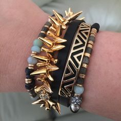 Arm party by Stella & Dot!!!
