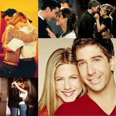 Ross and Rachel ♥ #friends tv show