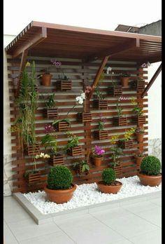 Jardinagem na parede!