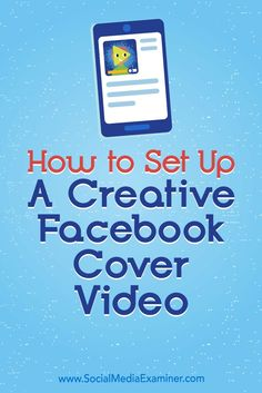 In this article, you'll discover how to use a Facebook video cover on your Facebook page
