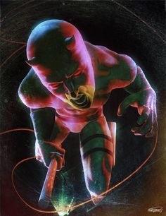 Daredevil by Daniel Scott Gabriel Murray