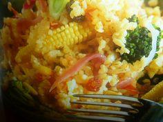 bulgur ricette - con verdure e pinoli