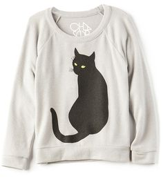 Chaser Spooky Cat Pullover