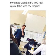 I'd fail because I'd be too distracted and wondering how they get their skin so good