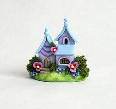Miniature  Charming Fairy  Whimsy Lavender and by ArtisticSpirit