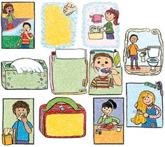 Worksheets Personal Grooming Worksheets kid lesson plans and for kids on pinterest