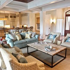 Traditional Living Room Design,