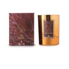 Bougie Victorian - Marbre rouge