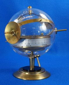 Vintage Mid Century Brass Sputnik BGM Weather Station Barometer 1765968  To see the Price and Detailed Description you can find this item in our Category Vintage Industrial & Steampunk on eBay: http://stores.ebay.com/tincanalley1/Vintage-Industrial-Steampunk-/_i.html?_fsub=19516075018   RD14597  Go back to Tin Can Alley - FOR SALE: http://www.bagtheweb.com/b/PBdAfQ