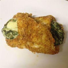 Spinach Dip Stuffed Chicken Breast | Recipes | Beyond Diet