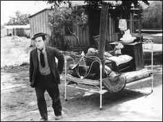 """Another Great Movie Moment From Buster Keaton: """"Go West"""" (1925)"""