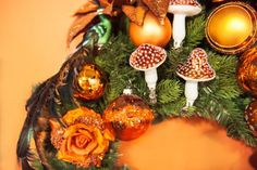 christmas decorating ideas, modern color and christmas tree decorations