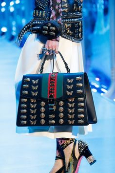 Gucci Fall 2017 Handbags Collection & More Luxury Details