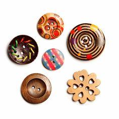 Dona un toc d'originalitat a les teves creacions amb botons divertits i originals. #botons #original #creativitat #merceria #madeyourself #calella #calella_bcn