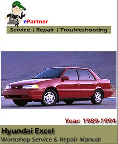 2000 hyundai excel manual pdf