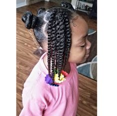 Hairstyles For Black Women .Hairstyles For Black Women Little Girls Ponytail Hairstyles, Little Girl Ponytails, Little Girls Natural Hairstyles, Baby Girl Hairstyles, Natural Hairstyles For Kids, Kids Braided Hairstyles, Wedding Hairstyles, Toddler Hairstyles, School Hairstyles