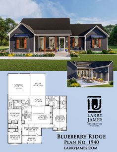 More Than 60 Blueberry Ridge House Plan Heated Sq Ft Bed Blueberry Ridge House Plan Beheiztes Quadratfußbett - Bilmece Sims House Plans, Bungalow House Plans, Ranch House Plans, New House Plans, Dream House Plans, Small House Plans, Open Floor House Plans, Floor Plans For Houses, Ranch Floor Plans
