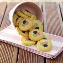 polkadot frozen cookies