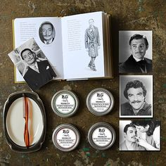 Brooklyn Grooming Mustache Wax, If you are looking for a product for your handlebar try our mustache wax! You may be surprise by its firm, thick, gummy texture, it's basically mustache glue! #handmade #natural #brooklyngrooming #classic #timeless #dapper #gentleman