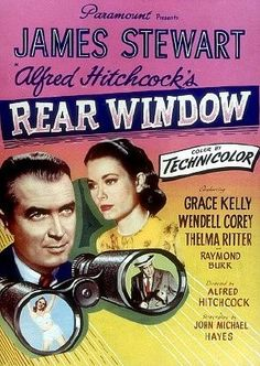 Grace Kelly and Jimmy Stewart, can you believe that was Raymond Burr who played the murderer?  And, Thelma Ritter was a one of a kind!