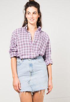 Vintage 80s Tommy Hilfiger Shirt / S4026 | Avelinas Vintage | ASOS Marketplace